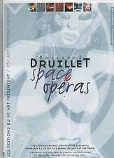 Livret publicitaire DRUILLET Space Opéras. catalogue 2000/2001