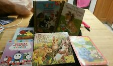 Asst lot of 6 children's books very good