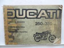 Ducati 250 350 Spare Parts Catalog Price List Book Manual Motorcycle L9547
