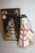 "1986 Emmett Kelly Jr. Flambro Figurine ""Why Me"" Clown Figurine 9770 Rare"