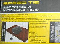SeaDoo Speed Tie Kit for Dock Mooring Down w/ Rope RXT GTX RXP-X RXT-X 295100336