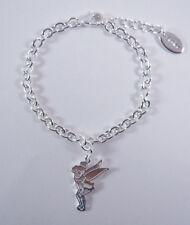 Disney Jewelry Silver Plated Tink Charm Bracelet