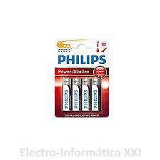 2X BLISTER 4 PILAS ALCALINAS PHILIPS AA  1.5V GRAN CALIDAD - ENVIO DESDE ESPAÑA