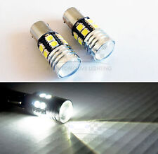 High Power 1157 Cree Q5 LED Bulbs 12 SMD 5050 7W Backup Bulbs Xenon White