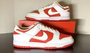 🔴 Nike Dunk Low - White/ University Red (Men's Size 11) BRAND NEW/ DEADSTOCK 🔴