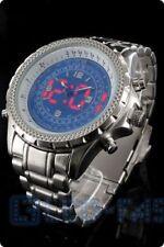 Jay Baxter Herren Master-Digitaluhr blau led-uhr Herrenarmbanduhr mit led