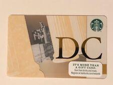 Rare MINT Starbucks Card - 2015  Washington DC Lincoln - New Unused