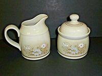 Royal Doulton Lambethware Florinda Creamer Sugar Bowl Generous Size--Set of 2!!