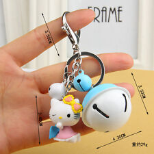 NEW Hello kitty Key chain Modelling of the angel The bell key chain Toy Gift 4