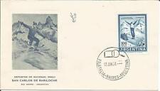 Argentina  1961  San Carlos De Bariloche  Winter Sports Skiing Ski Jumper  Cover