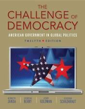 The Challenge of Democracy (Book Only) by Jerry Goldman, Kenneth Janda, Deborah…