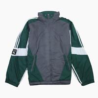 Adidas EQT Training Mens Vintage 90s Full Zip Lined Track Top Jacket XL Grey
