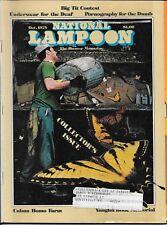National Lampoon  magazine October 1975  Big Tit Contest  vintage  humor