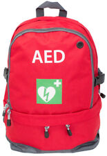 Medical Emergency AED Backpack + AED Kit Offer (Red or Green)