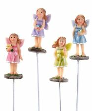 Fairy Garden Mini - Baby Fairies On Stakes - Set of 4
