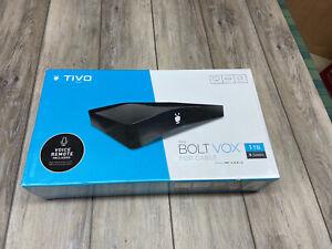 New TiVo Bolt VOX 1 TB 6 Tuners Model No. TCD849300V1 BLACK Entertainment System