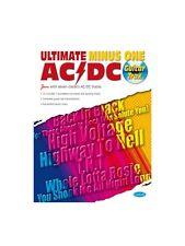 AC DC Ultimate Minus One apprendre à jouer présent MUSIC BOOK & CD Guitare Tab