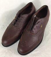 84a608070f0 Reebok RA505WSI Brown Gore-Tex Golf Shoes Men s Size US 9   EUR 42 New