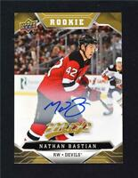 2019-20 19-20 Upper Deck MVP Rookie Auto #238 Nathan Bastian
