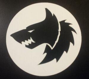 Space wolf logo vinyl sticker - Wolves Marine 40k Warhammer RPG