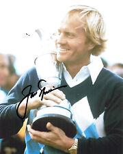 Jack NICKLAUS SIGNED Autograph 10x8 Photo AFTAL GOLF Open Winner