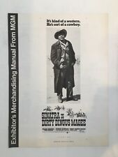 """DIRTY DINGUS MAGEE Pressbook 1970 8Pages 12"""" x 16"""" Movie Poster Art 148"""