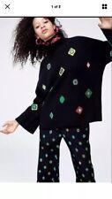 Kenzo and H&M Women Black Wool Knit sweater size S