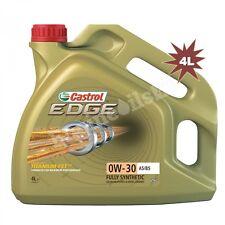 CASTROL CAR VAN ENGINE MOTOR OIL -Edge 0W-30 A5/B5 - 4 Litre