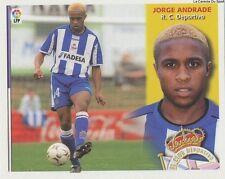 N°17 ULTIMOS FICHAJES JORGE ANDRADE PORTUGAL RC.DEPORTIVO LIGA 2003 ESTE STICKER