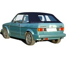 VW Volkswagen Rabbit Cabriolet Golf 1980-1994 Convertible Soft Top Blue German