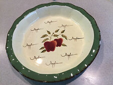 "Apple Orchard Collection by Home Interiors 12 1/2 ""Apple Pie Pan"