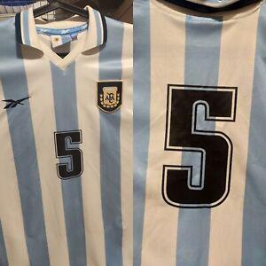 ARGENTINA DIEGO CHOLO SIMEONE 1999 REMERA SHIRT JERSEY CAMISETA MAILLOT MARADONA
