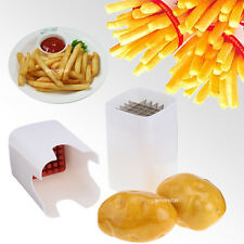 One Step French Fry Cutter Kitchen Fries Potato Vegetable Fruit Slicer Xmas Gift