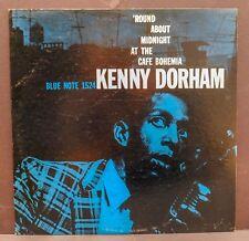 "KENNY DORHAM ""Round About Midnight at Café Bohemia"" Blue Note 1524 Mono Vinyl"