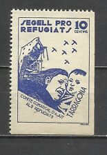 499-SELLO LOCAL GUERRA CIVIL ALTO VALOR TARRAGONA REFUGIADOS COMITE REFUGIATS**