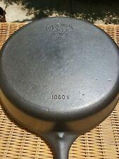 Restored Vintage Wagner Ware Cast Iron Skillet No.10 1060