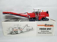 Wirtgen 1900 DC Road Milling Machine Kutter - NZG #379 - 1:50 Scale Model NIB