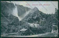 Terni Cascata Marmore Alterocca 5554 Treno cartolina QK4552