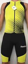 Reebok skinsuit speedsuit singlet Medium Mens running track and field Zipper