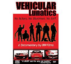 "Car Street and Track racing documentary DVD "" VEHICULAR LUNATICS """