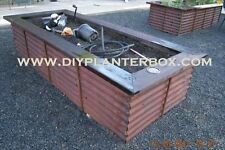 DIY do it yourself RAISED PLANTER BOX instructions / plans . . diy planter box