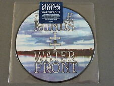 "NEU RSD 7"" PICTURE VINYL SIMPLE MINDS Waterfront RECORD STORE DAY 2015 RAR"