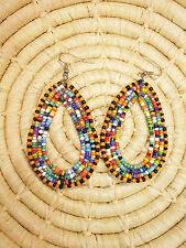 New African Maasai Earrings Masai Massai Africa S/M jemo416