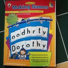 Making Names Hands On Spelling And Phonics Lessons Grades 1-3