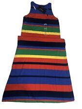 polo ralph lauren Girls Striped Dress M(8-10)