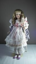 Franklin Mint Little Bo Peep Porcelain Doll Helen Kish