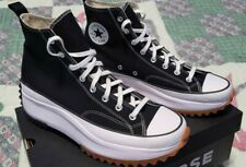 Men's Converse Run Star Hike Black Sneakers Size 13 - Excellent Condition