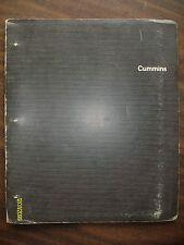 12-Vintage Rare Cummins Service Bulletins, covering years 1968, 69, 75, 76