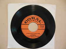 LES BROWN I've Got My Love To Keep Me Warm/New Mexican Hat Dance CORAL 45