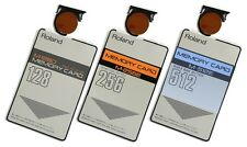 *Replacement Battery for Roland Memory Cards: M-512E, M-256E, M-256D, M-128D